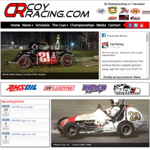 Racer's Website Packages